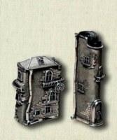 Серебряный чехол для зажигалки