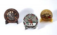 Медали с символикой компании