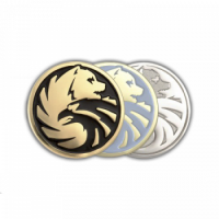 Корпоративные значки на заказ из золота