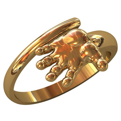Кольцо ВК0008