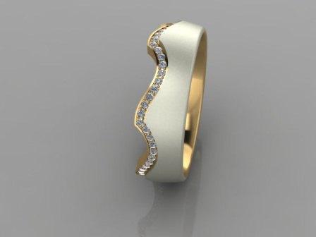 Обручальное кольцо Н9117