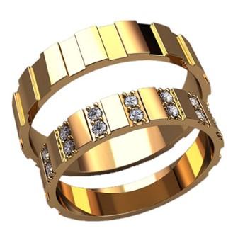 Обручальные кольца 2589