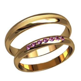 Обручальные кольца 2590