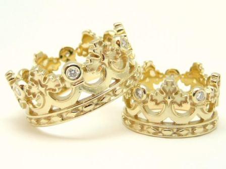 Обручальные кольца H9015