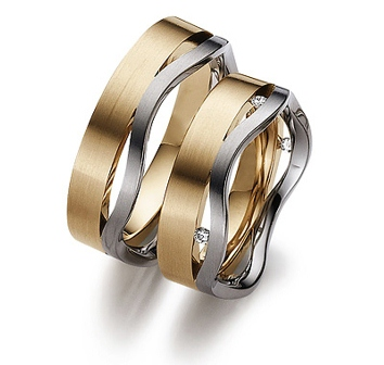 Обручальные кольца H9022