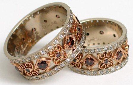 Обручальные кольца H9028