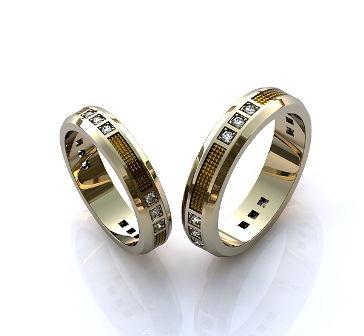 Обручальные кольца H9042