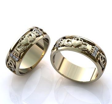 Обручальные кольца H9045