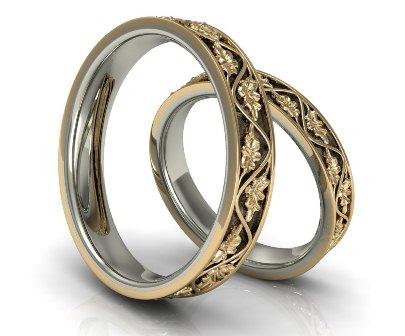 Обручальные кольца H9051