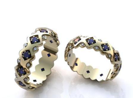 Обручальные кольца H90560