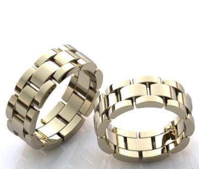 Обручальные кольца H9059