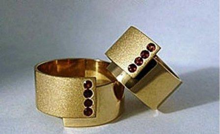 Обручальные кольца H9066