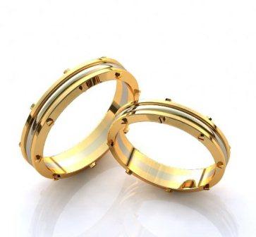 Обручальные кольца H9068