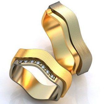 Обручальные кольца H9073