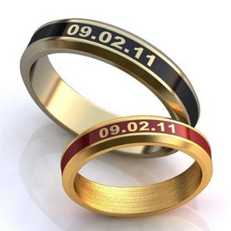 Обручальные кольца H9082