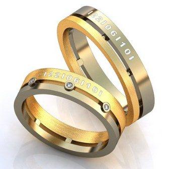Обручальные кольца H9083