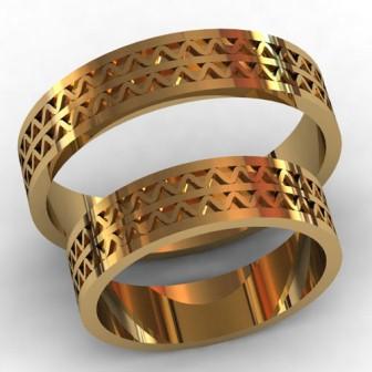 Обручальные кольца КВ-784