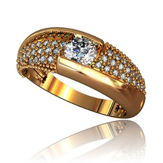 Обручальные кольца КЕ-003