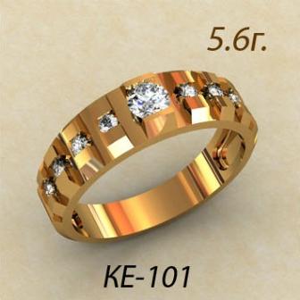 Обручальные кольца КЕ-101