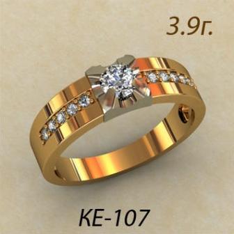 Обручальные кольца КЕ-107