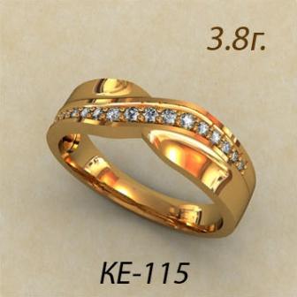 Обручальные кольца КЕ-115