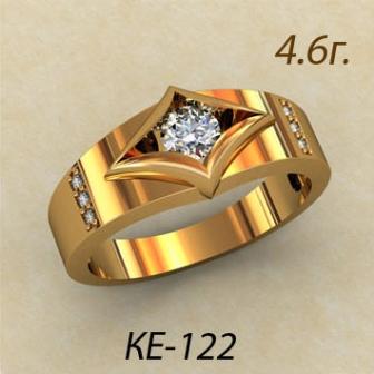 Обручальные кольца КЕ-122