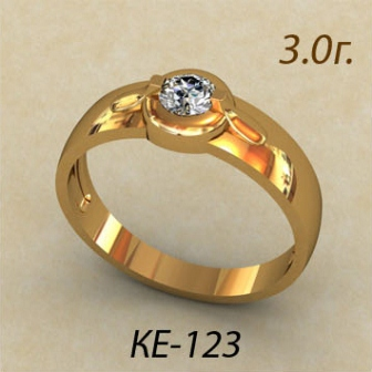 Обручальные кольца КЕ-123