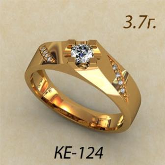 Обручальные кольца КЕ-124