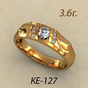 Обручальные кольца КЕ-127