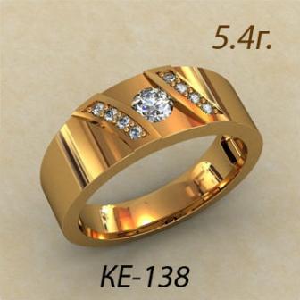 Обручальные кольца КЕ-138