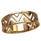 Обручальное кольцо 20897