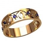 Обручальное кольцо 20901