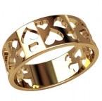Обручальное кольцо 20902