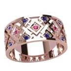 Обручальное кольцо 20943