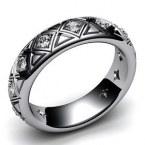 Обручальное кольцо Н9124