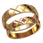 Обручальные кольца 20011