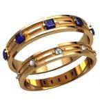 Обручальные кольца 20012