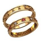 Обручальные кольца 20014