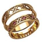 Обручальные кольца 20015