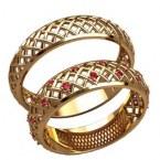 Обручальные кольца 20016