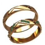 Обручальные кольца 20018
