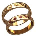 Обручальные кольца 20019