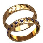 Обручальные кольца 20020