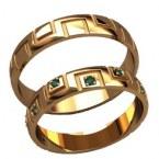 Обручальные кольца 20021