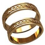 Обручальные кольца 20022