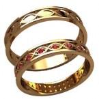 Обручальные кольца 20024