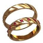 Обручальные кольца 20027