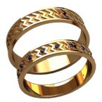 Обручальные кольца 20028