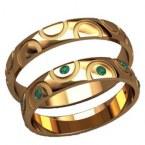 Обручальные кольца 20029