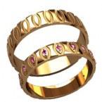 Обручальные кольца 20030
